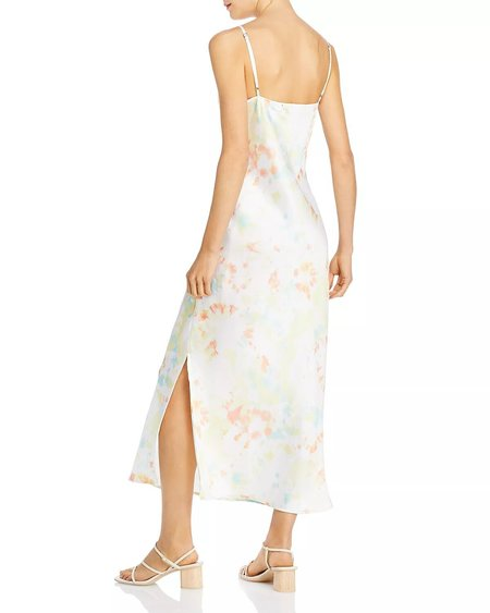 French Connection Sade Tie Dye Slip Dress