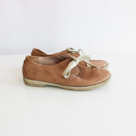 [Pre-loved] Shinobu Leather Shoes - Tan