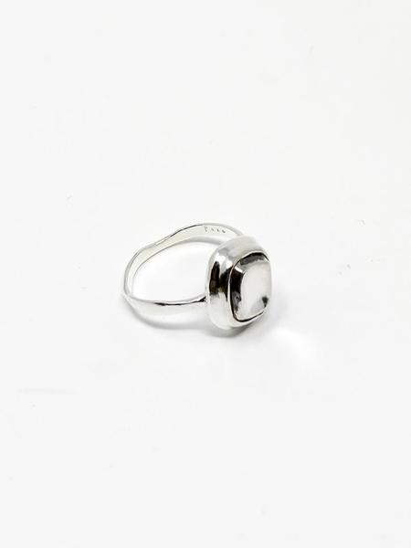 Unisex Paso New Signet Ring - Silver