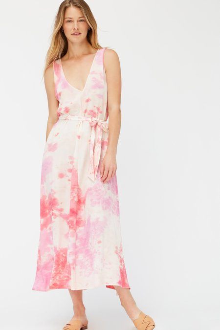 Lacausa Marina Dress - Raspberry Wash