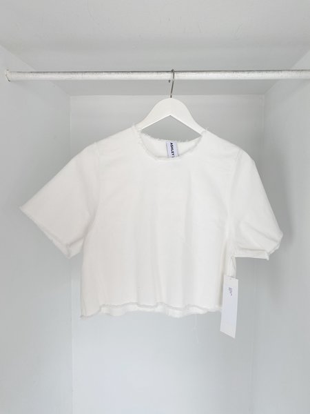 Ashley Rowe Tee - White Denim