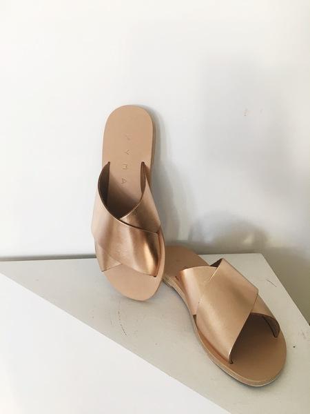 Kyma Sandals Chios Sandals - Natural/Bronze