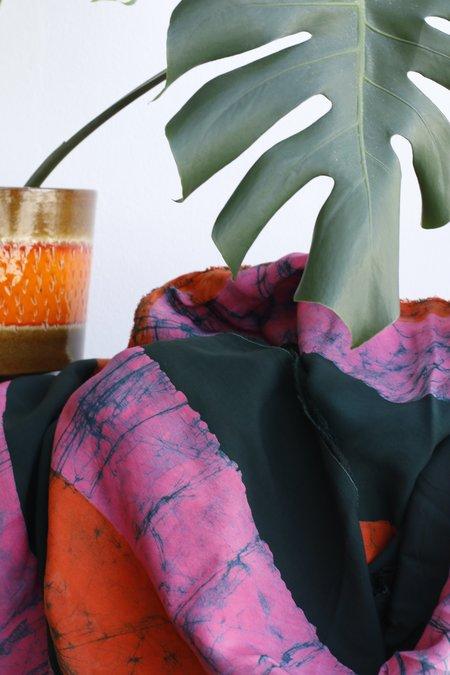 Osei-Duro Fabric Rayon - Carmine