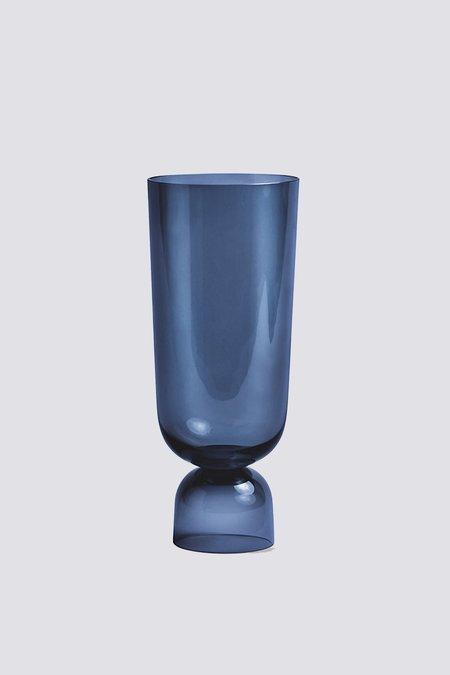 Hay Bottoms Up Vase - Navy Blue