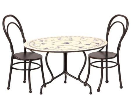Kids Maileg Cafe Table Dining Set