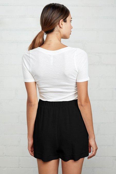 Rachel Pally Linen Sandy Short - Black