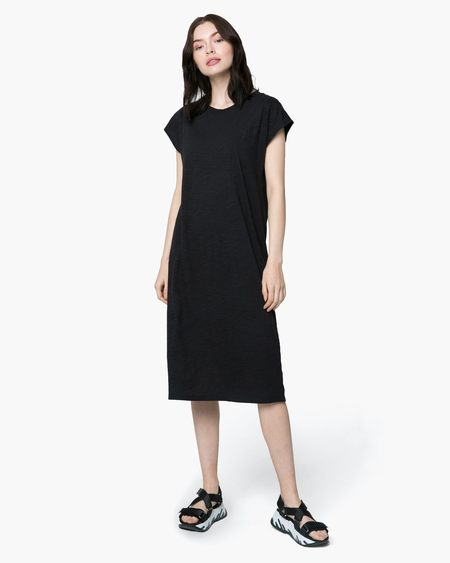 Richer Poorer Easy Dress - Black