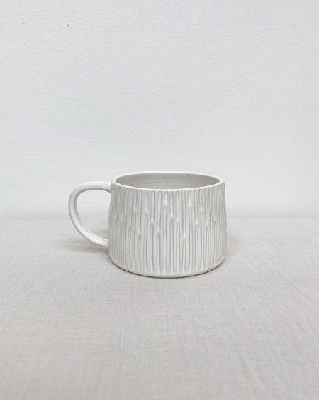Box Sparrow Hand Carved Mug