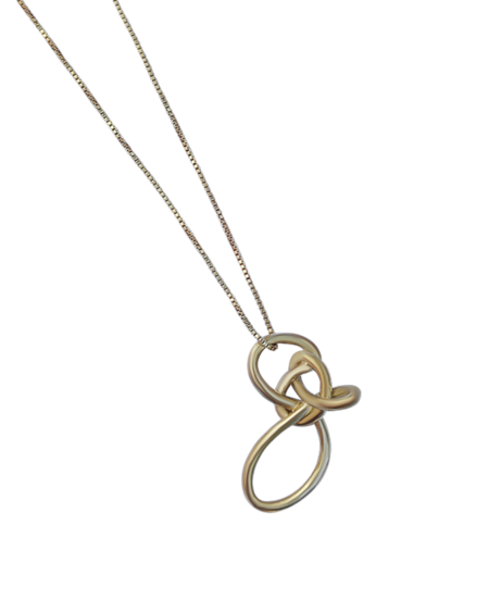 Take Shape Studio Loop Knot Necklace