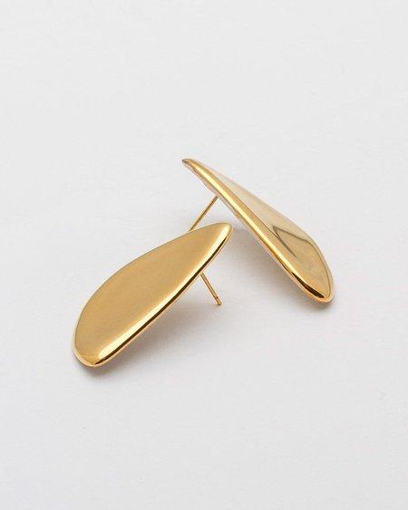 Pedrusco Louis Earrings - Gold