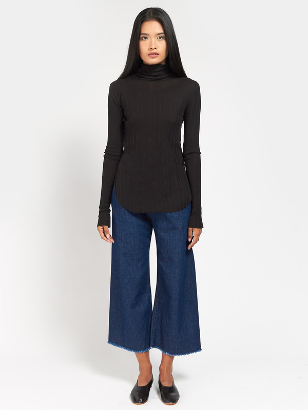 Skin Imogen Turtleneck Black