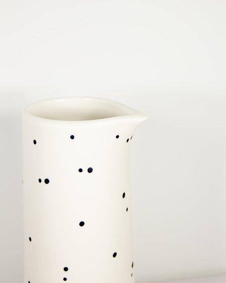 Franca Ceramics Pitcher Dot - White