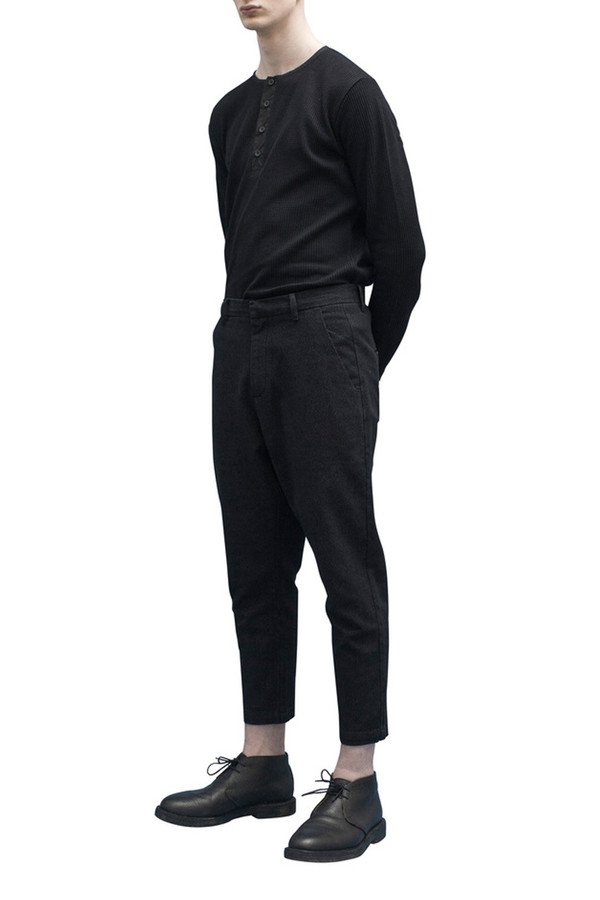 Men's Journal Sea Pants Cropped | Black