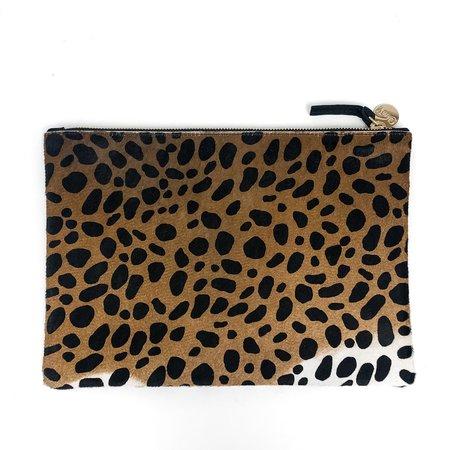 Clare V. Flat Clutch - Leopard Hair