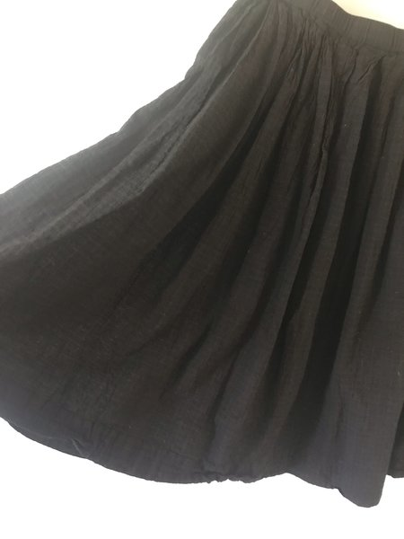 Auntie Oti Pleated Skirt - Black