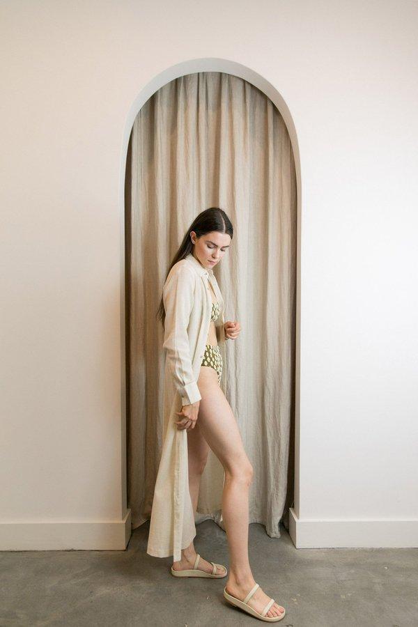MARA HOFFMAN CINZIA DRESS - BEIGE