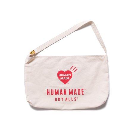 Human Made Paperboy Bag - White