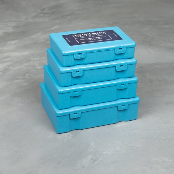 Human Made 4P Set Storage Container - Blue