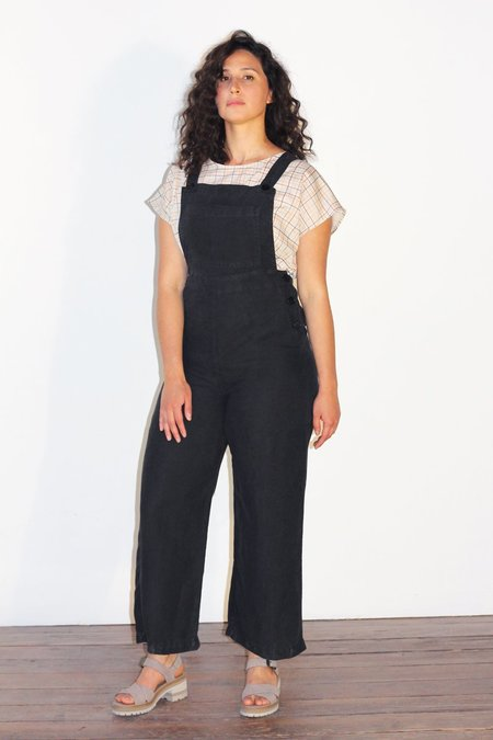 North Of West Ariel Overalls - Black