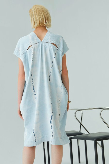 Atelier Delphine Cresent Dress - Ice Wash Tie Dye