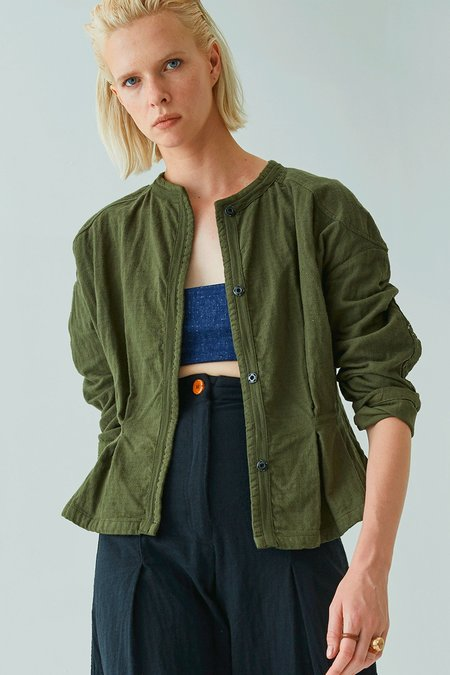 Atelier Delphine Meeker Jacket - Hunter Green