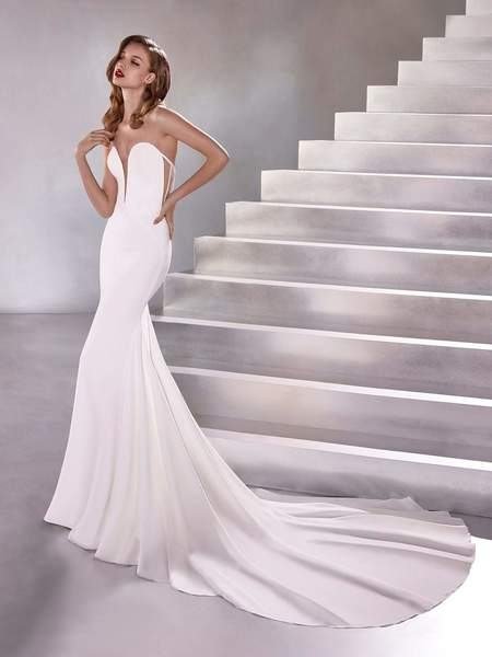 Atelier Pronovias Lux Dress - Off White