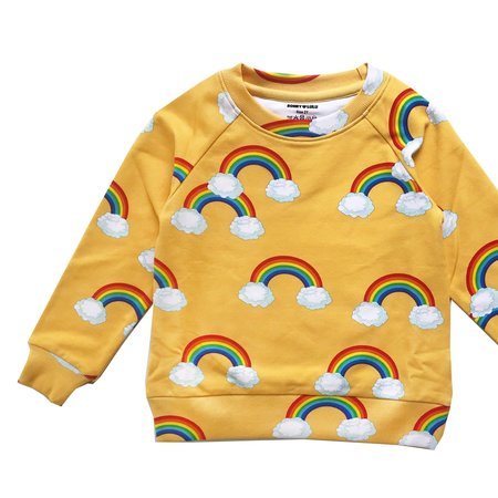 Kids Romey Loves Lulu Sweatshirt - Rainbow