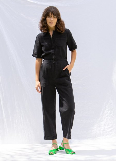 Lacausa Milwood Jumpsuit - Tar