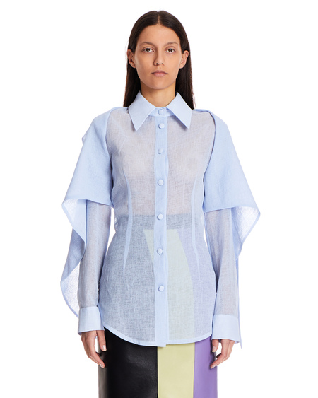 Matériel Shirt with Bow - Blue