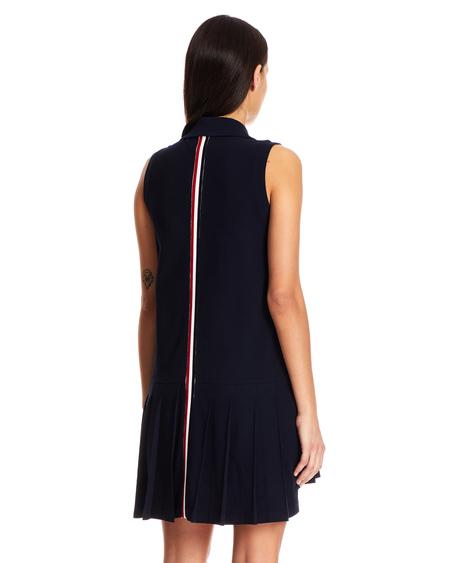 Thom Browne Logo Dress - Navy Blue