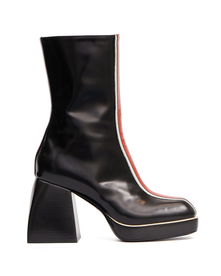Nodaleto Bulla Ankle Boot in Leather - Multicolor