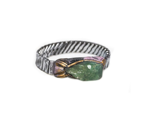 Adina Mills Time to Rock Green Calcite Bracelet