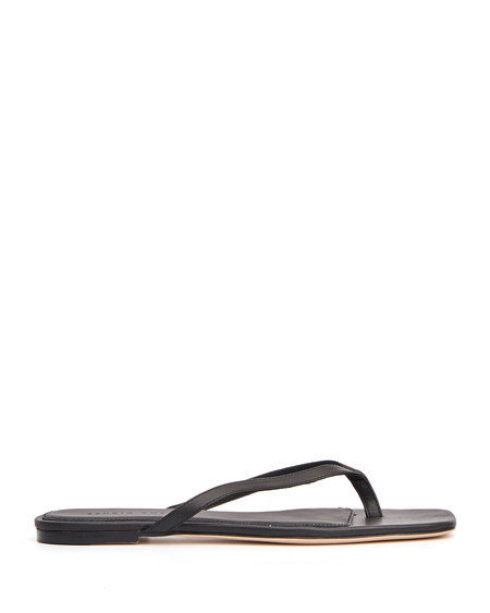 Studio Amelia Leather 2.2 Flip Flops - Black