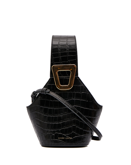 Danse Lente Johny Mini Bucket Bag - Black
