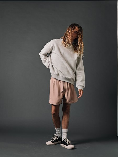 SECOND/LAYER New Boxer Short - Adobe Rose