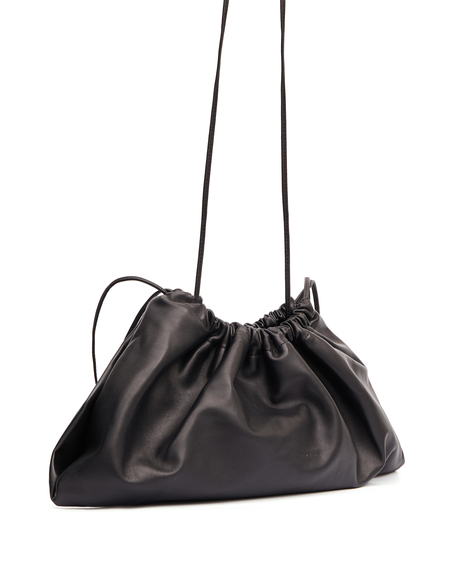 Studio Amelia Leather Shoulder Bag - Black
