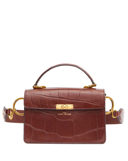 Marc Jacobs The Downtown Leather Bag - Brown