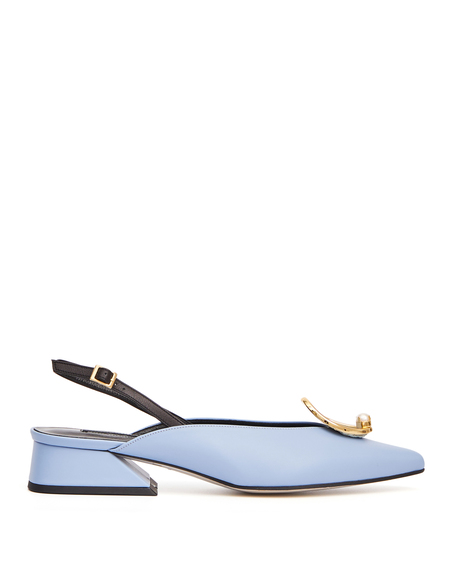 Yuul Yie Zizi Leather Pumps - Light Blue