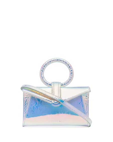 Complét Valery Mini Leather Bag - Blue