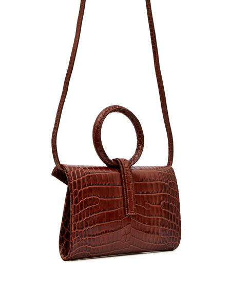 Complét Leather Valery Bag - Brown