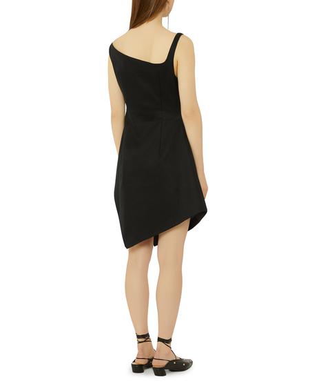 Coperni Motion Mini Cotton Dress - Black