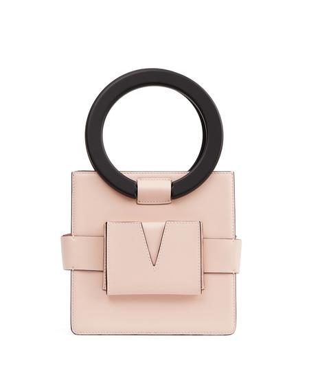 IURI Leather Hand Bag - Pink