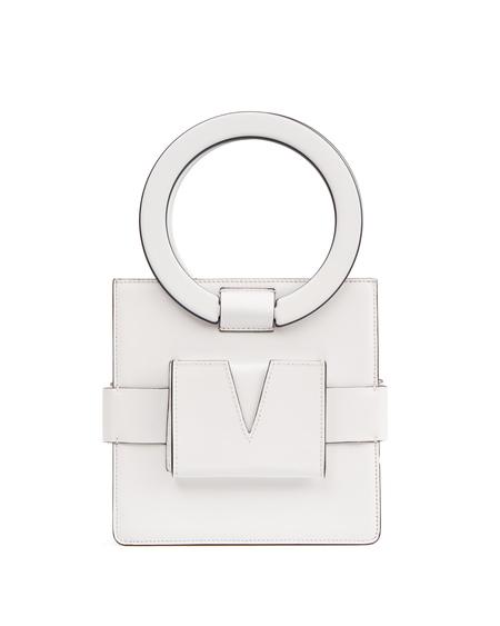 IURI Leather Hand Bag - White