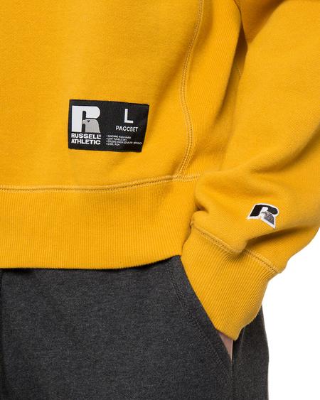 Rassvet (PACCBET) x Russell Cotton Sweatshirt - Mustard