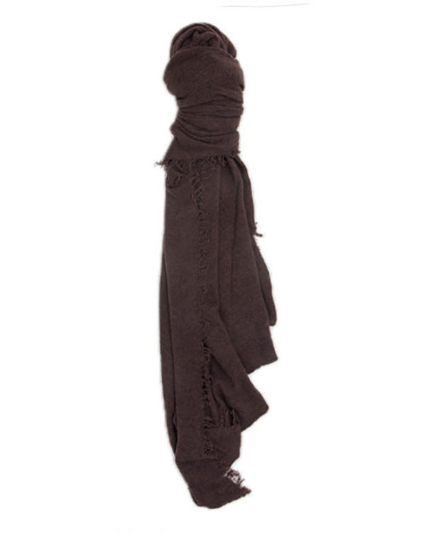 Grisal Love Cashmere Scarf in Chestnut