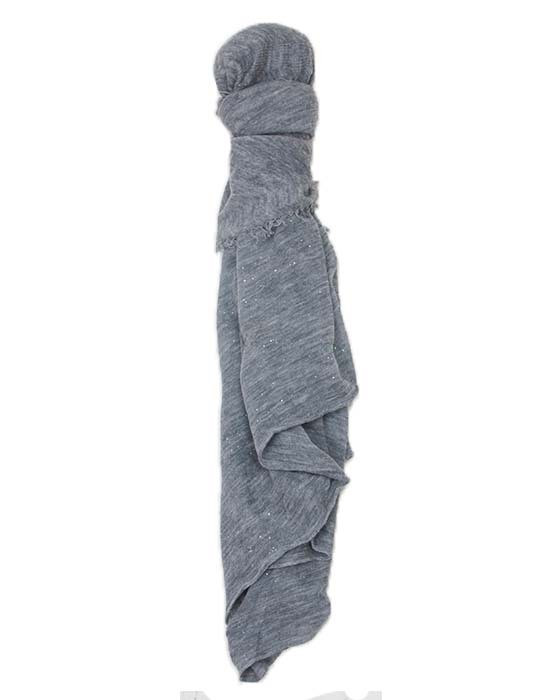 Grisal Love Cashmere Scarf in Heather Grey Confetti