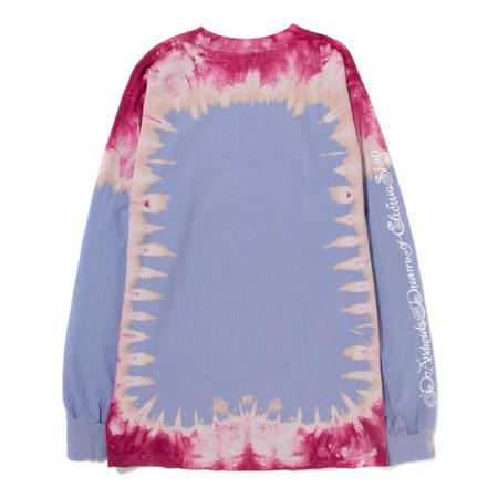 Real Bad Man GPH Tie Dye Long Sleeve T shirt - Blueberry Pie
