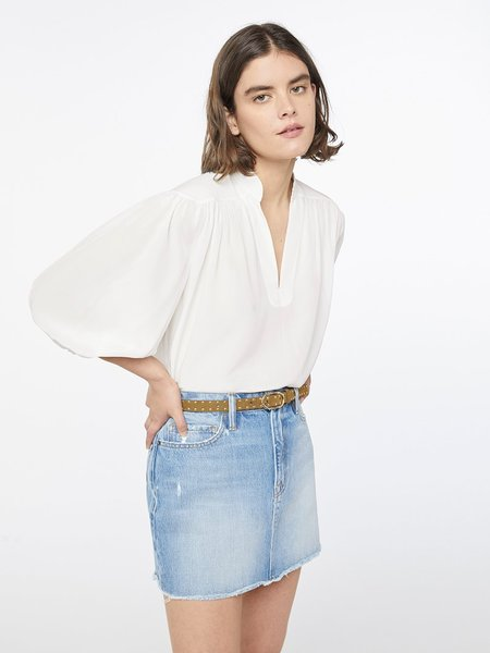 FRAME Denim Cali Silk Top