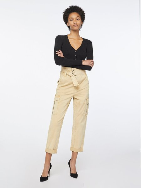 FRAME Denim Safari Belted Pant - Cargo