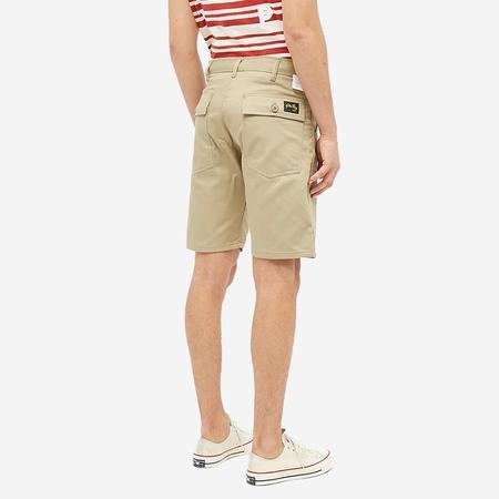 Stan Ray 4-Pocket Fatigue Shorts - Khaki Twill